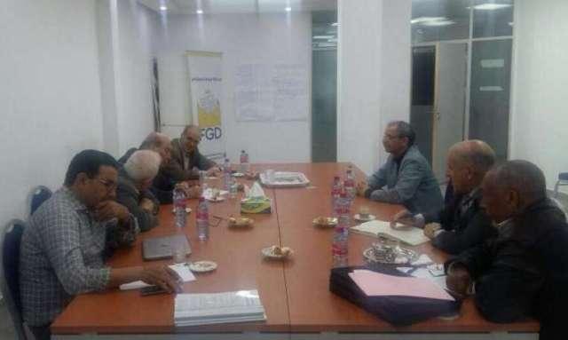 الطاهر يلتقي الأمين العام لحزب الطليعة الديمقراطي في المغرب