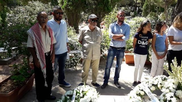 الشعبية في صيدا تشارك في زيارة ضريح القائد الوطني مصطفى سعد