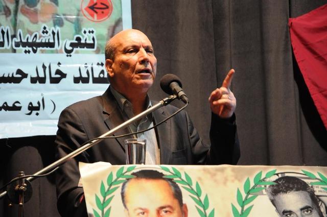 كلمة الدكتور ماهر الطاهر، عضو المكتب السياسي، مسؤول العلاقات السياسية في الجبهة الشعبية لتحرير فلسطين، في تأبين الشهيد
