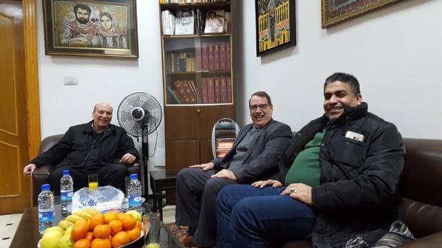 الجبهة الشعبية لتحرير فلسطين تستقبل السفير الكوبي في دمشق