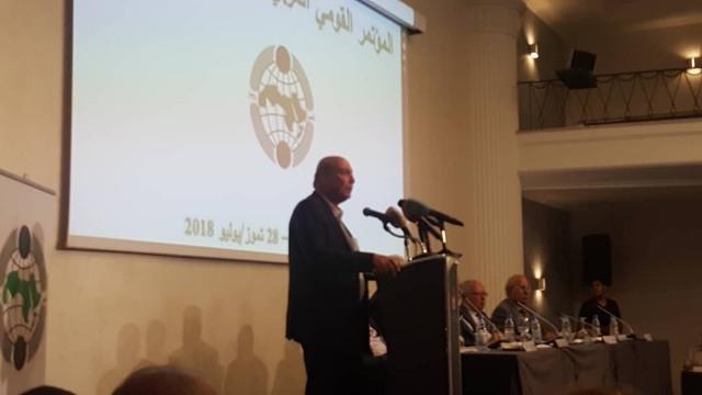 افتتاح أعمال الدورة الـ 29 لأعمال المؤتمر القومي العربي في بيروت