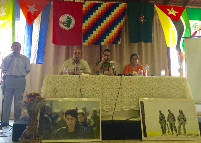 الدكتور ماهر الطاهر يشارك في أعمال مؤتمر حول أزمة الرأسمالية ومستقبل الطبقة العاملة في البرازيل