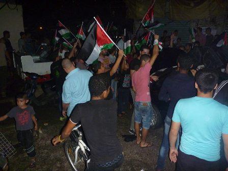 اعتصام جماهيري تضامني في مخيم شاتيلا