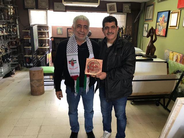 الجبهة الشعبية لتحرير فلسطين في لبنان تكرّم جورج الفغالي