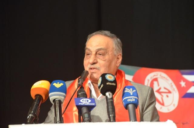 مهرجان انطلاقة الشعبية في بيروت يتحول إلى حفل وطني وقومي بحضور وفود عربية وفلسطينية ولبنانية