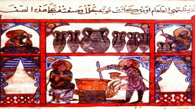 حول مائدة عباسية