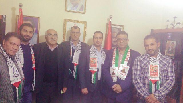 الجبهة الشعبية تلتقي الحزب السوري