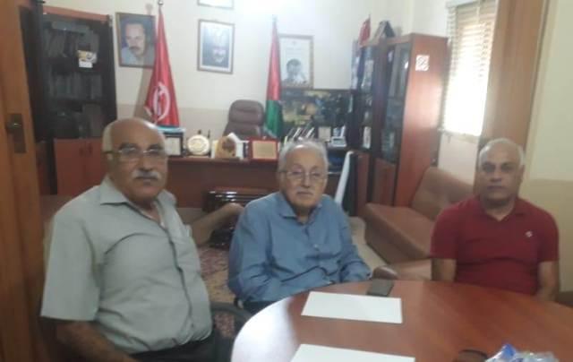 الدكتور صباغ يلتقي الجبهة الشعبية لتحرير فلسطين