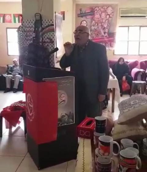لجان المرأة الشعبية الفلسطينية تفتتح معرضها الإنتاجي في مخيم مار الياس