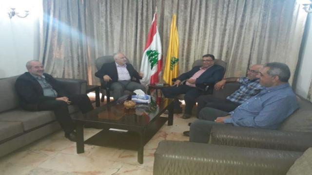 حزب الله يستقبل وفدًا قياديًا من الجبهة الشعبية لتحرير فلسطين