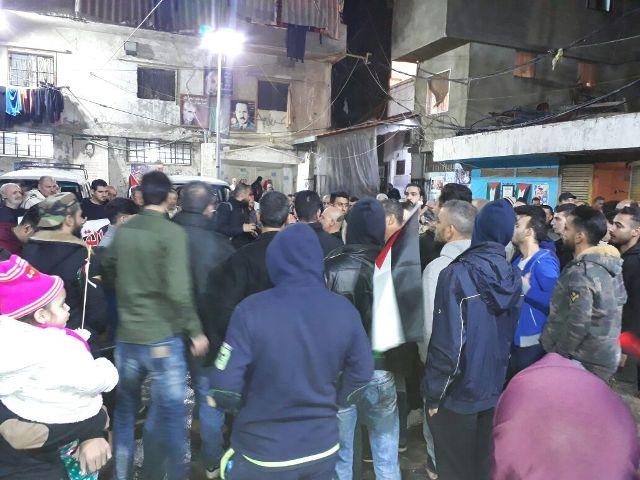 مخيما شاتيلا والجليل يتضامنان مع القدس