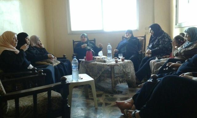 ندوة للجان المرأة في مخيم نهر البارد