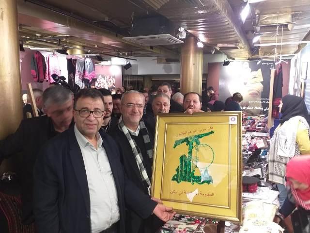 الجبهة الشعبية لتحرير فلسطين تشارك في معرض التراث الوطني الفلسطيني الثاني عشر
