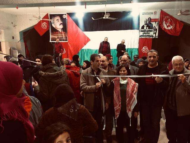 لجان المرأة الشعبية الفلسطينية تقيم معرضًا تراثيًّا في مخيم عين الحلوة
