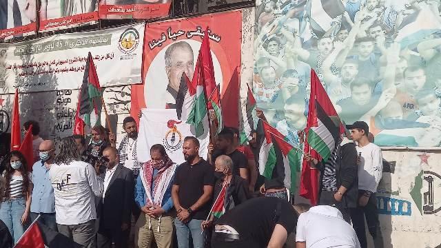 لقاء وطني شبابي  فلسطيني  لبناني تضامنًا ونصرة لانتفاضة القدس
