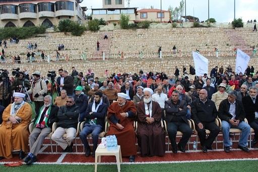 لمناسبة الذكرى 42 ليوم الأرض احتفال في مارون الراس تأكيدًا على أن القدس عاصمة أبدية لفلسطين