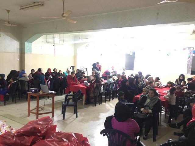 لجان المرأة الشعبية الفلسطينية في صيدا أقامت ندوة صحية في قاعة الشهيد ناجي العلي