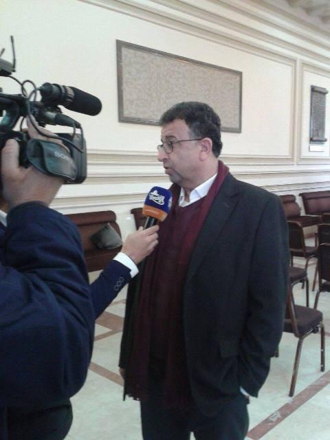 أثناء تقديم واجب العزاء لحركة حماس، عبد العال: الاحتلال لن يعرف طعم الطمأنينية أبدًا