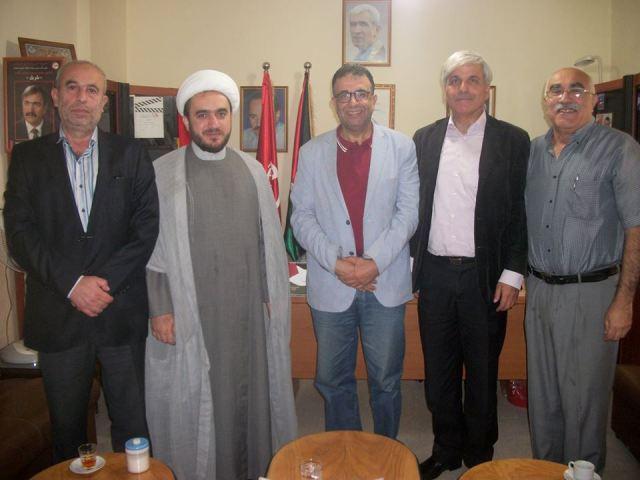 عبد العال يستقبل وفداً من الحملة الدولية للعودة إلى فلسطين