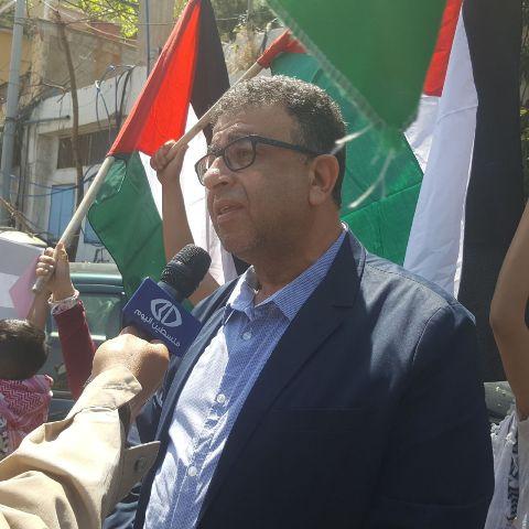 مروان عبد العال: يوم النكبة هو يوم لعنة على الاستعمار الصهيوني وأعوانه ودعاة صفقة القرن