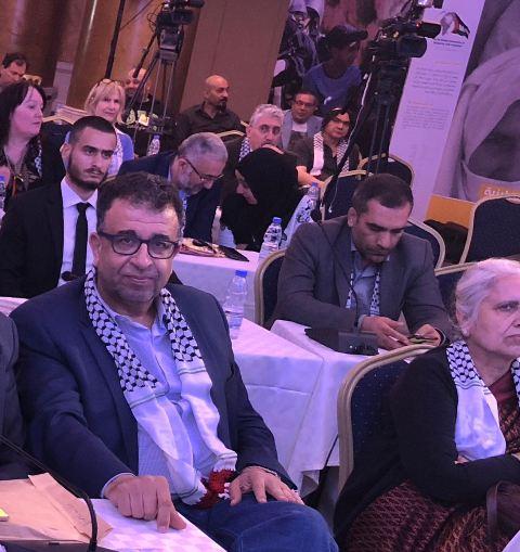 عبد العال : العدالة تبدأ من فلسطين