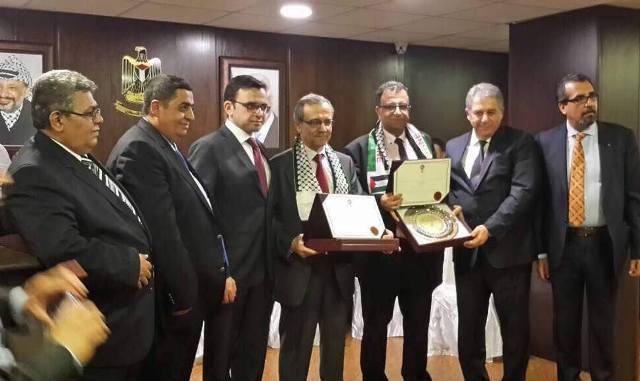 اللجنة الوطنية للقدس عاصمة دائمة للثقافة العربية تكرم قعبور وعبد العال