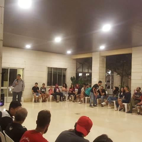 مروان عبد العال: إن دور منظمة الشبيبة هو  تنمية دور الشباب الفلسطيني في معركة الوعي والثقافة