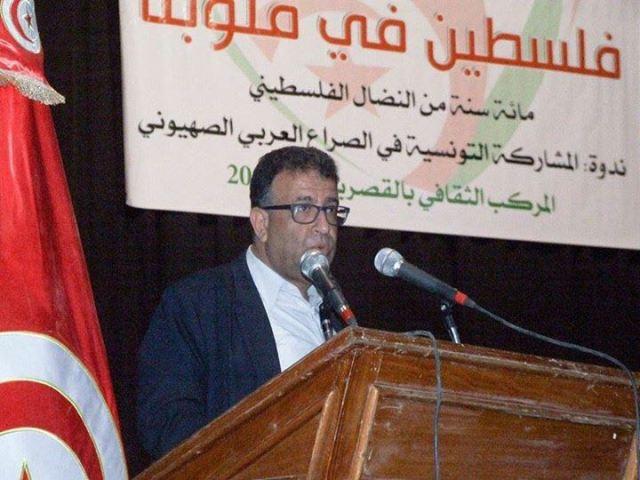 الشعبية ضيفة شرف في احتفال المحامين  بيوم الأرض في  القصرين/ تونس
