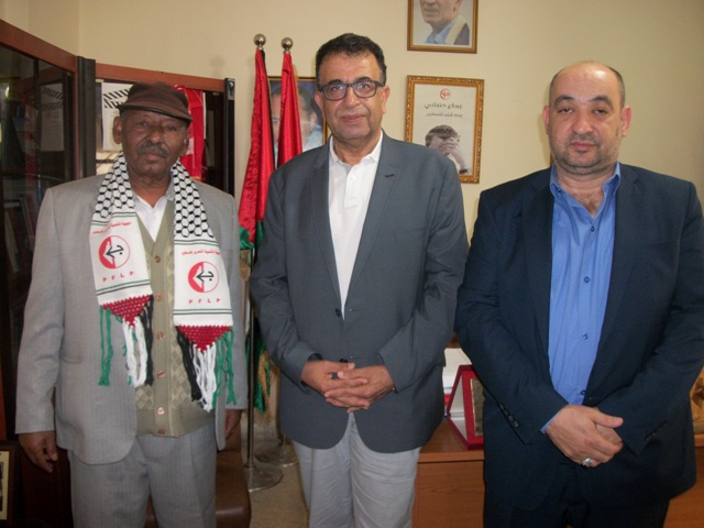 مروان عبد العال يلتقي أمين عام جبهة التحرير الأرتيرية ورئيس التجمع الديمقراطي الأرتيري