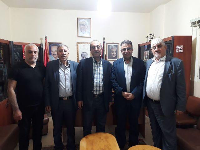 الشعبية في لبنان تستقبل وفدًا من الفصائل الفلسطينية
