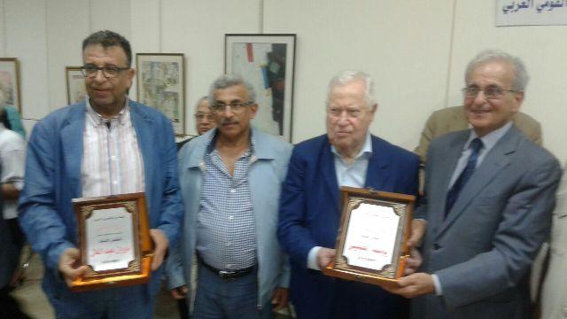 المنتدى القومي العربي يكرّم مروان عبد العال مع كوكبة من الأمناء على العهد القومي