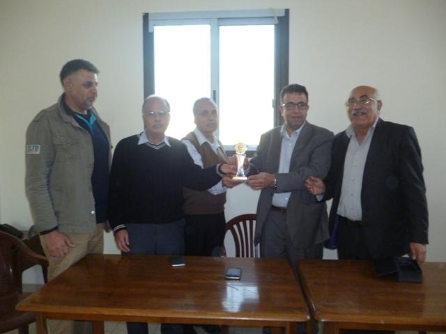 المكتب الإعلامي للجبهة الشعبية لتحرير فلسطين يكرم الأديب مروان عبد العال