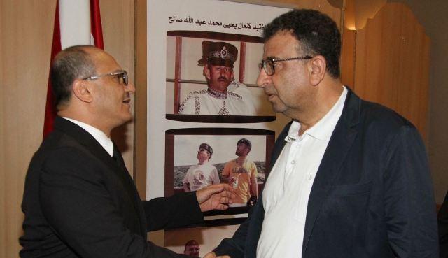 الشعبية في لبنان تعزي العميد يحيى محمد عبدالله صالح بوفاة نجله الأكبر