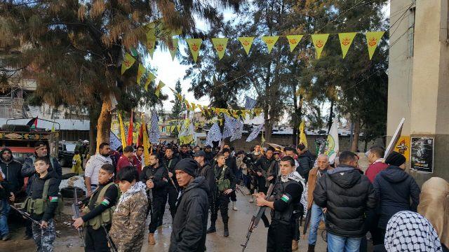 فتح في الشمال تحيي ذكرى انطلاقة الثورة الفلسطينية المعاصرة انطلاقة حركة فتح 52