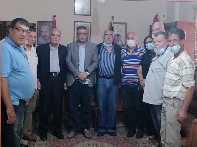 الشعبية في لبنان تستقبل حزب طليعة لبنان العربي