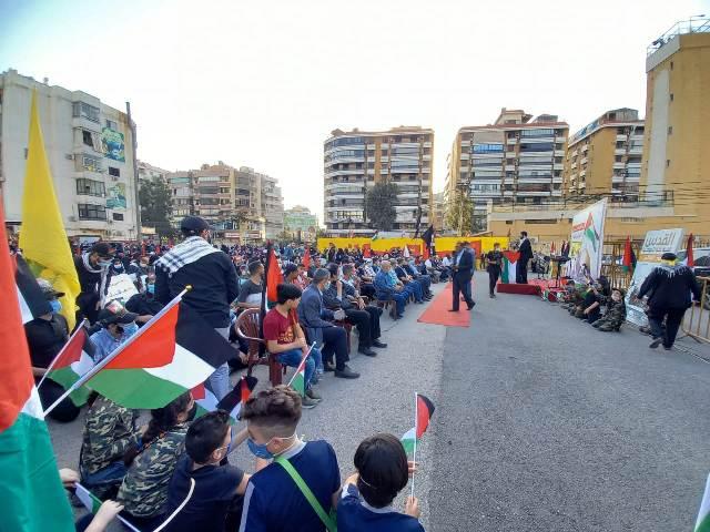 الجبهة الشعبية لتحرير فلسطين تشارك في اللقاء التضامني مع القدس وفلسطين