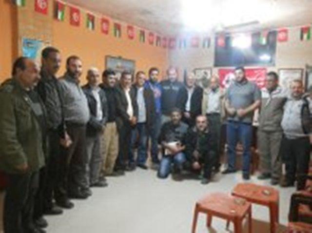 وفد المبادرة الشعبية يزور مكتب الجبهة الشعبية لتحرير فلسطين