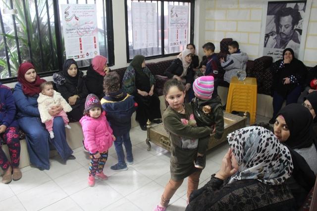 يوم صحي مجاني تخصصي في مخيمي المية ومية وعين الحلوة