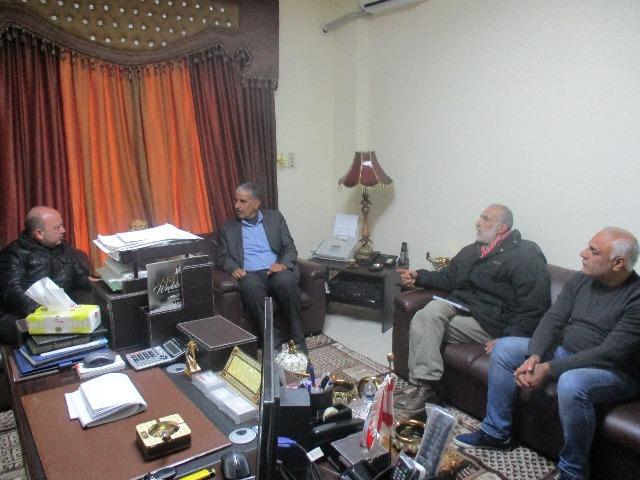 مينا يستقبل قيادة الجبهة الشعبية لتحرير فلسطين في الشمال