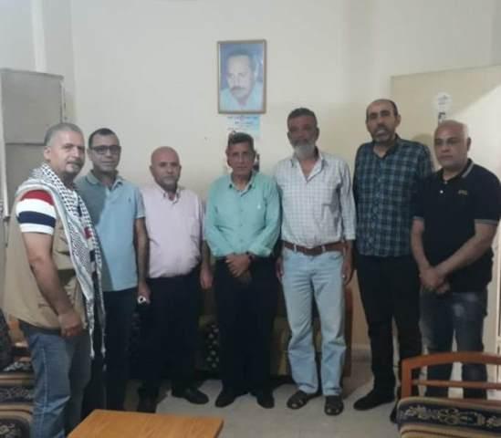 هيئة ممثلي الاسرى والمحررين تزور لجنة الاسرى والمحررين للجبهة الشعبية في لبنان