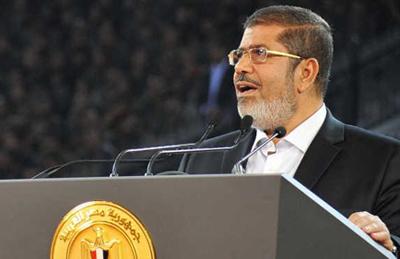 إسرائيل لمرسي : شالوم يا حليفنا .. مباركةٌ النطفة التي بذرتك