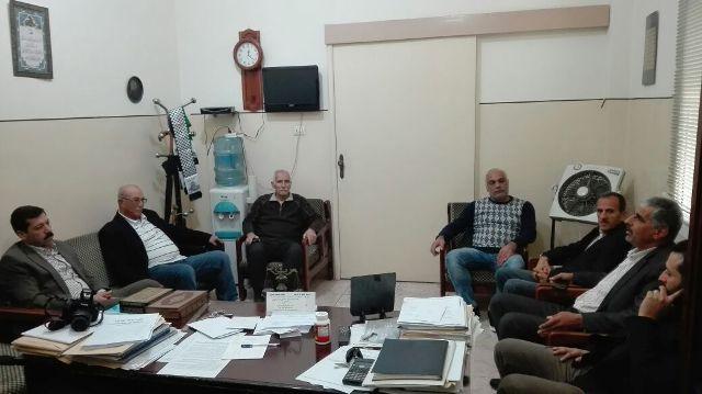 الجبهة الشعبية لتحرير فلسطين تزور المؤتمر الشعبي اللبناني في طرابلس