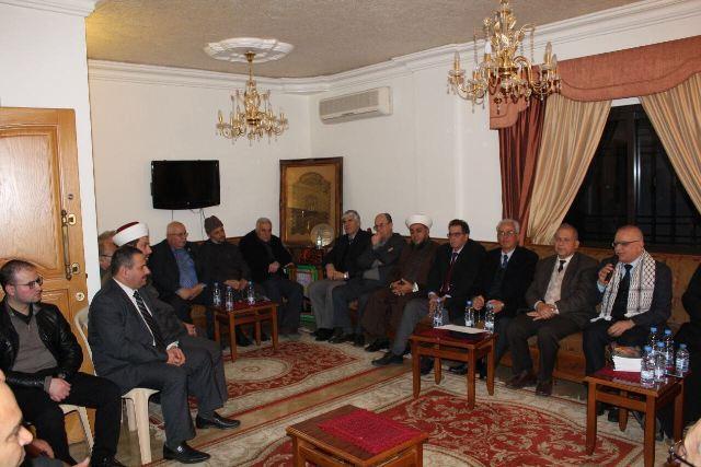 المؤتمر الشعبي اللبناني في عكّار يقيم لقاءً تضامنيًّا مع القدس وفلسطين