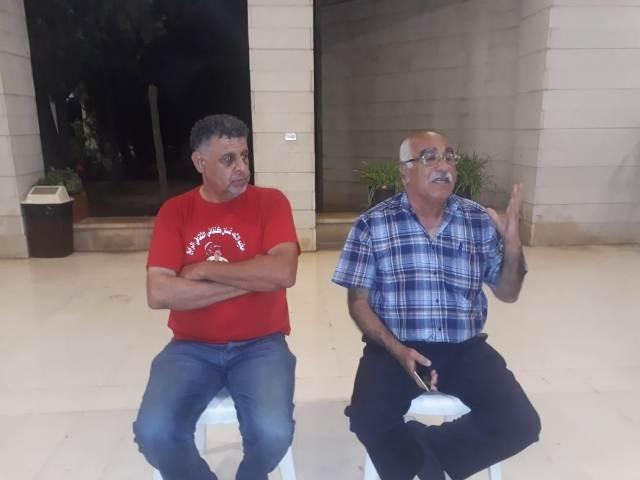 منظمة الشبيبة الفلسطينية تتضامن مع أسرى الحرية في سجون الاحتلال الصهيوني
