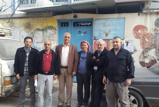 إغلاق مكتب مدير الأونروا في مخيم عين الحلوة