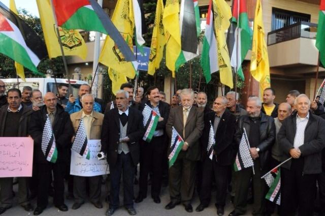 اعتصام نصرة لانتفاضة القدس في طرابلس