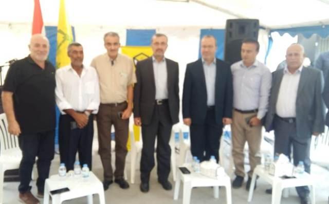 الشعبية تبارك للنائب عز الدين وتشارك في مهرجان شهداء قادة أمل