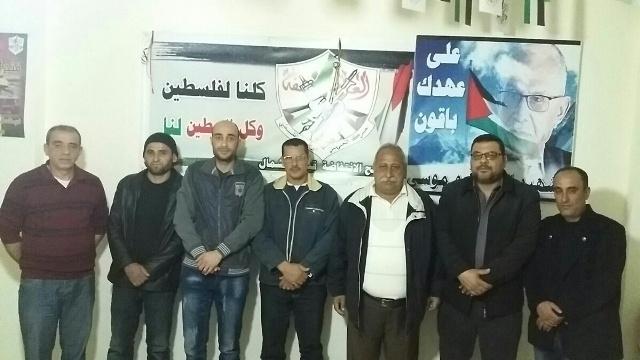 لقاء جمع الجبهة الشعبية وفتح الانتفاضه بمخيم نهر البارد