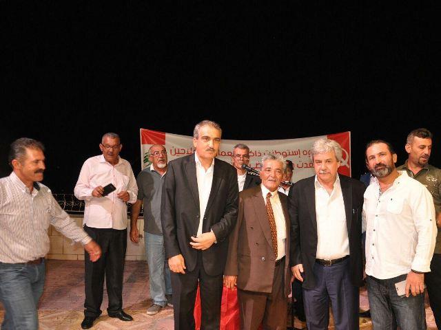 الشيوعي اللبناني يكرم القيادي الجبهاوي حسين سويدان وكوكبة من قدامى مناضليه