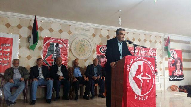 مراد : في يوم الأسير الفلسطيني الجبهة الشعبيّة أكبر من أن ترضخ للضغط والابتزاز السياسي.